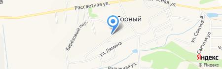 Продуктовый магазин на карте Горного