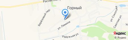 Магазин хозяйственных товаров на карте Горного