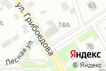 Схема проезда до компании Приветливая Ива в Перми
