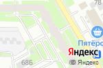 Схема проезда до компании Гардарика в Перми