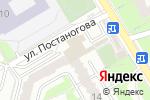 Схема проезда до компании Винтаж в Перми