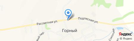 Библиотека Двуреченского сельского поселения на карте Горного