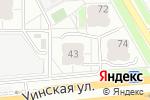 Схема проезда до компании Грибоедовский в Перми