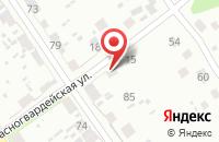 Схема проезда до компании Санги Стиль в Анджиевском