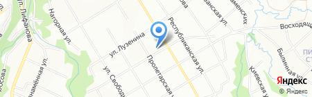 Средняя общеобразовательная школа №47 на карте Перми