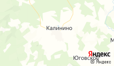 Отели города Калинино на карте
