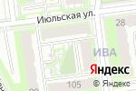 Схема проезда до компании Спортивный микрорайон ИВА в Перми