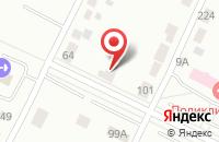 Схема проезда до компании Промторг в Перми