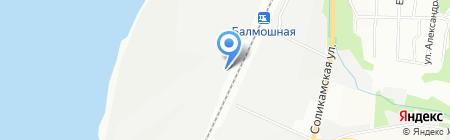 Газкомпозит на карте Перми