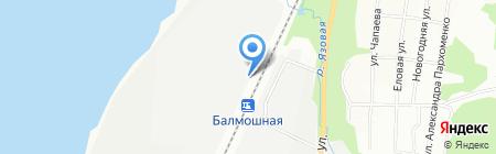 Искра-Турбогаз на карте Перми