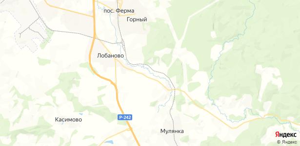 Клестята на карте