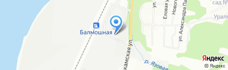 Пермполимет на карте Перми