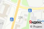Схема проезда до компании Надежда в Перми
