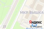 Схема проезда до компании Мясной рай в Перми