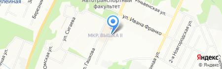 Цирюльник на карте Перми