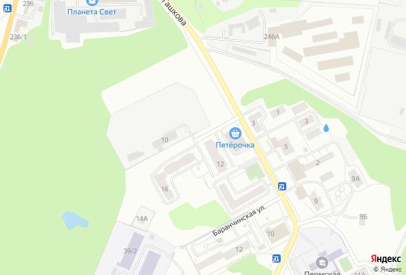 жилой комплекс по ул. Баранчинская