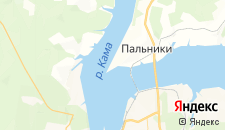 Отели города Городище (Пермский край) на карте