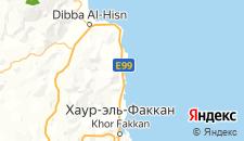 Отели города Аль-Ака на карте
