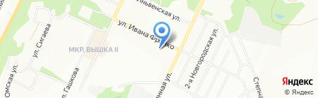 Продукты на карте Перми
