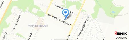 Средняя общеобразовательная школа №74 на карте Перми