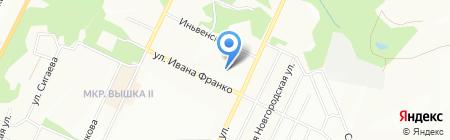 Кран-борт на карте Перми