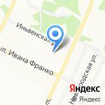 Авиатор на карте Перми
