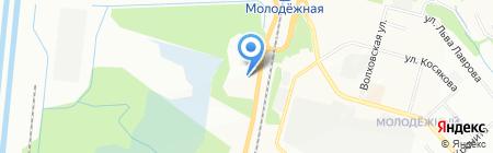 Столярная мастерская на карте Перми