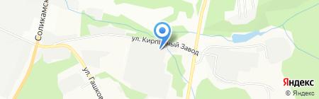 Строитель на карте Перми