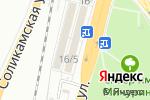 Схема проезда до компании Радуга в Перми
