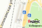 Схема проезда до компании Ваша крыша в Перми