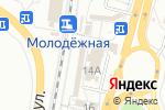 Схема проезда до компании Магазин фастфудной продукции на Первомайской в Перми