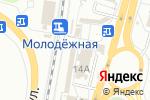 Схема проезда до компании 1000 мелочей в Перми