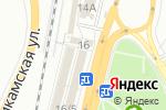 Схема проезда до компании Пирожковая №1 в Перми