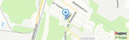 Гранит-Комфорт на карте Перми