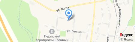 Социально-реабилитационный центр для несовершеннолетних Нытвенского района на карте Бершетя