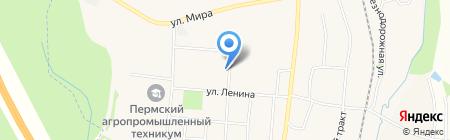 Западно-Уральский банк на карте Бершетя
