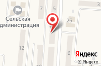 Схема проезда до компании Западно-Уральский банк в Бершете
