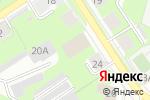 Схема проезда до компании Дом Суши в Перми