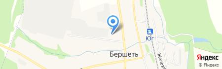 АЗС на карте Бершетя