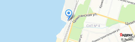 АВТОВСЁ на карте Перми
