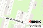 Схема проезда до компании Куб в Перми