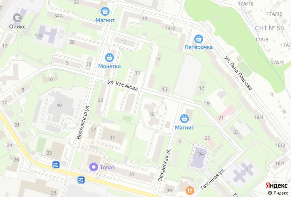 жилой комплекс по ул. Косякова, 16