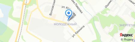 Автолегенда на карте Перми