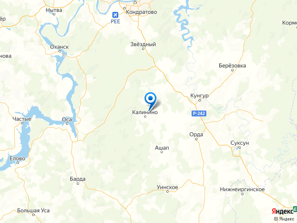 деревня Верх-Талица на карте