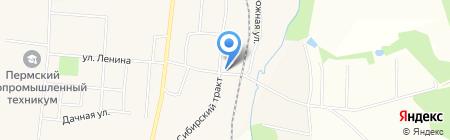 Продуктовый минимаркет на карте Бершетя