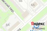Схема проезда до компании Корзинка в Перми