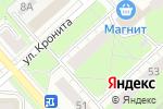 Схема проезда до компании Рейки в Перми