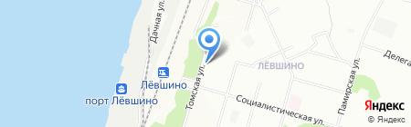 Округ на карте Перми