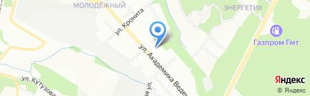 Средняя общеобразовательная школа №16 на карте Перми