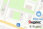 Схема проезда до компании Магазин домашней выпечки в Перми